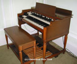 Hammond B3 Organ Complete Side View
